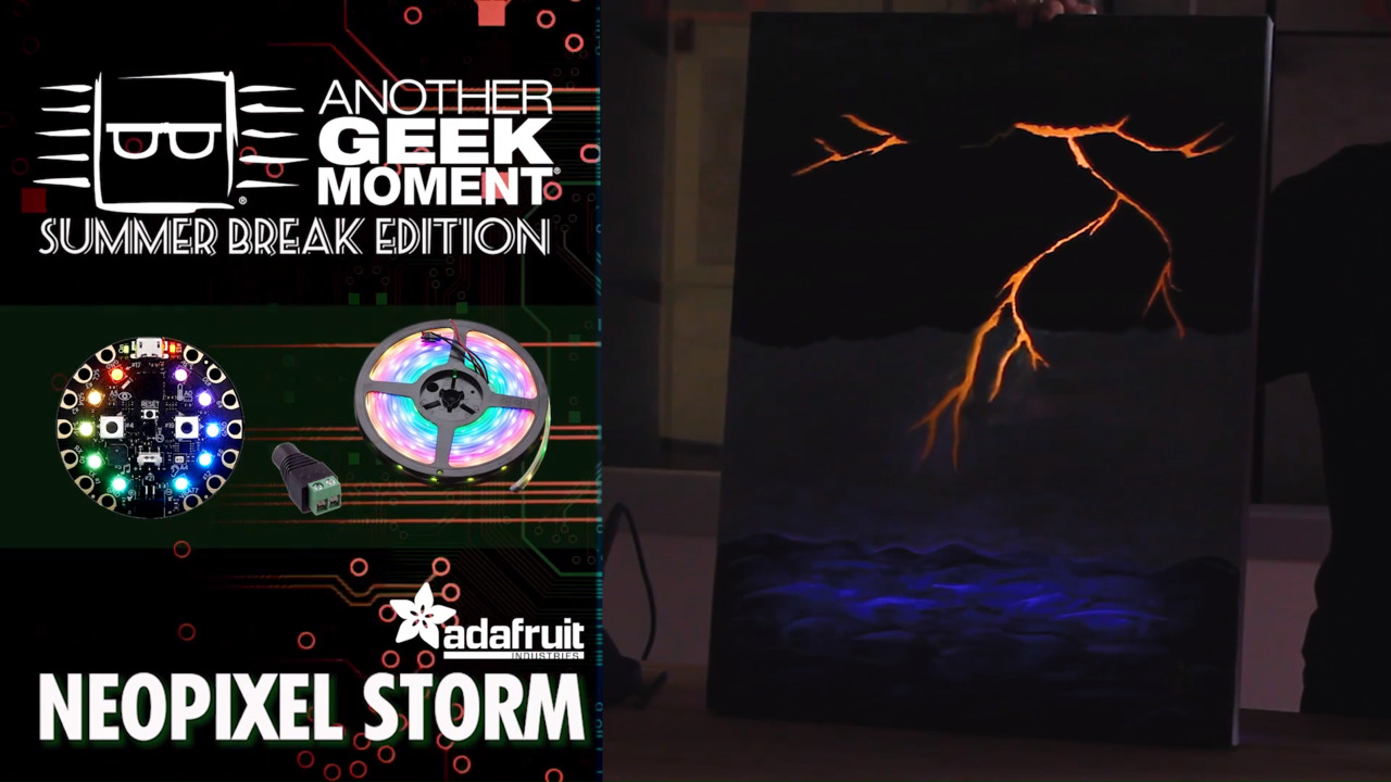 NeoPixel Storm – AGM Summer Break | DigiKey
