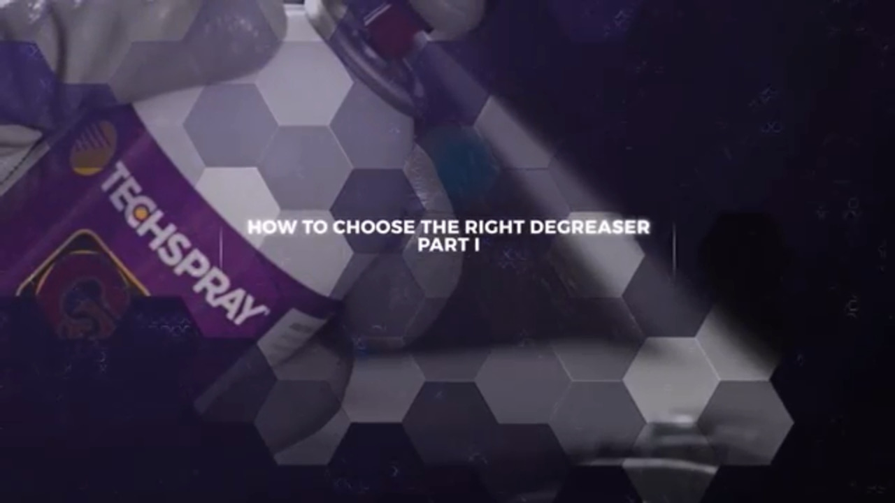 How to Choose the Right Degreaser? Part 1