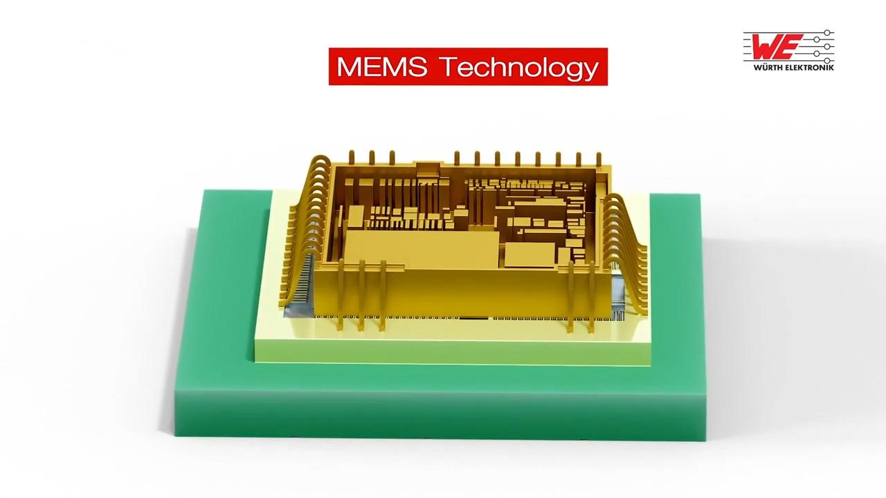 MEMS based sensors from Würth Elektronik