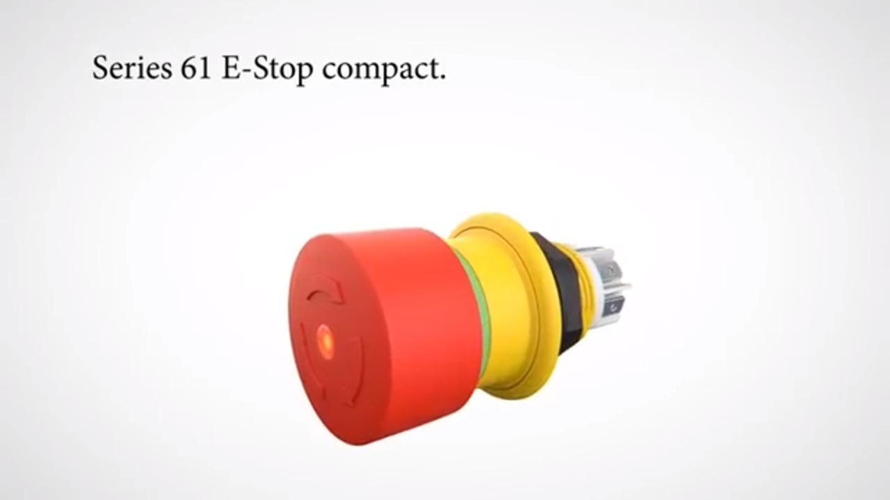 EAO - Series 61 E-Stops compact