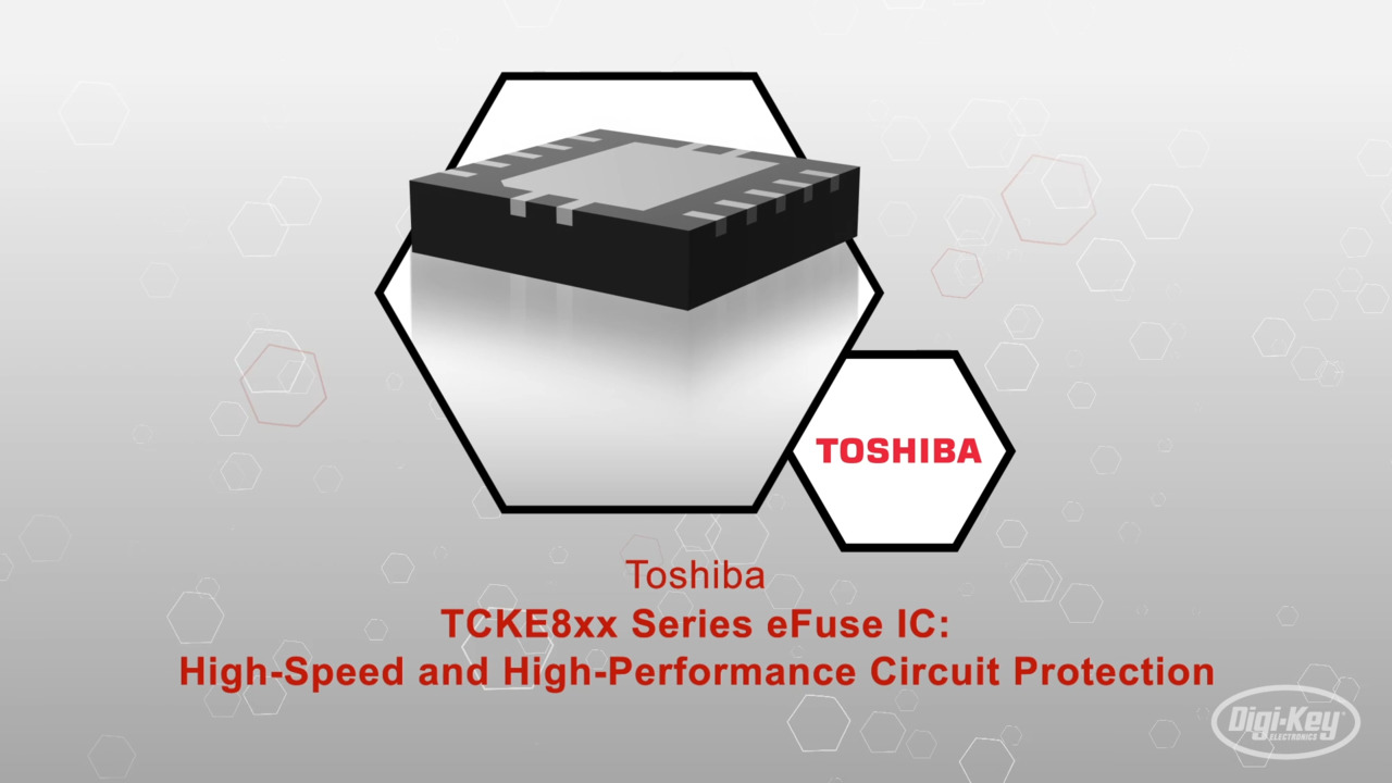 TCKE8xx Series of eFuse IC | Datasheet Preview