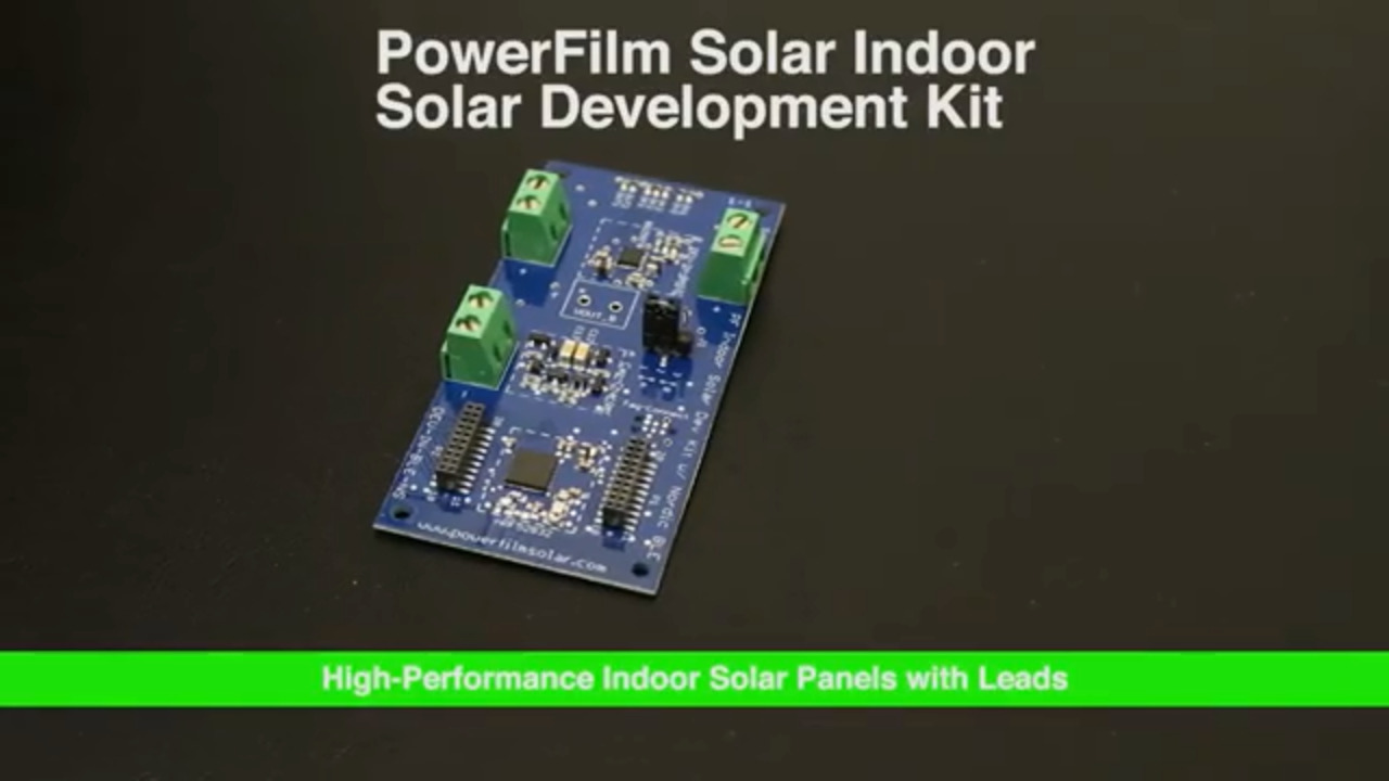 Dev Kit Weekly: PowerFilm Solar Indoor Solar Development Kit