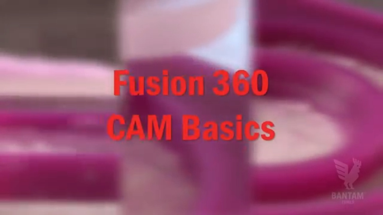 Programming Basic Toolpaths in Fusion 360
