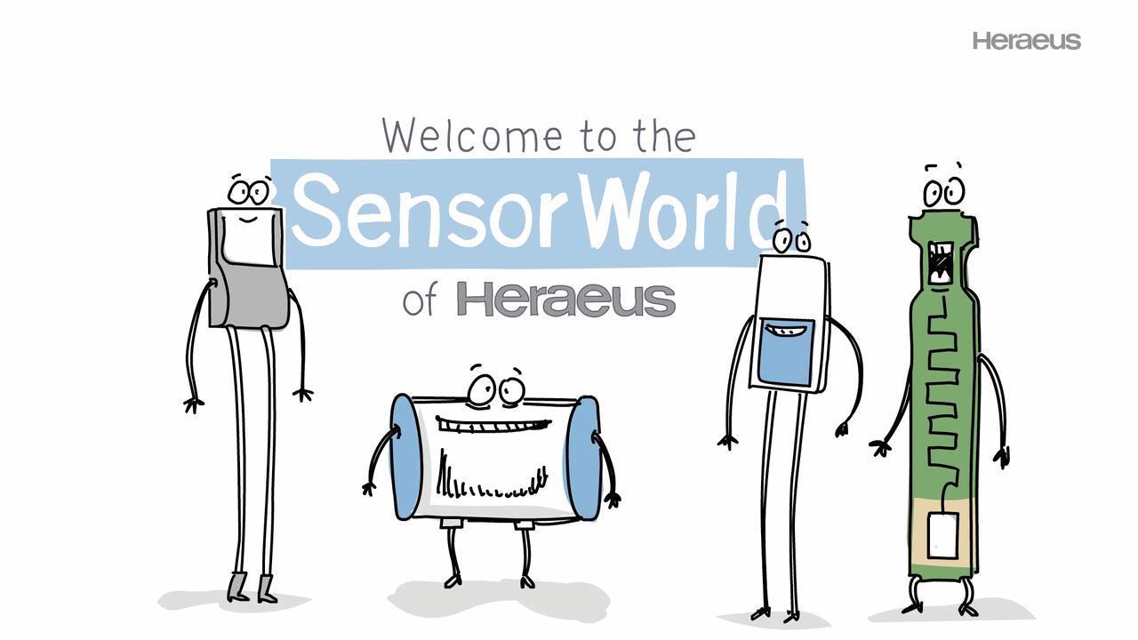 Welcome to the Sensor World of Heraeus