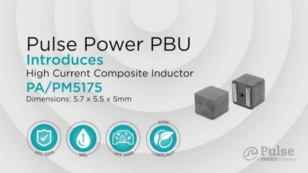 Composite Core Power Inductor PA/PM5175 Series