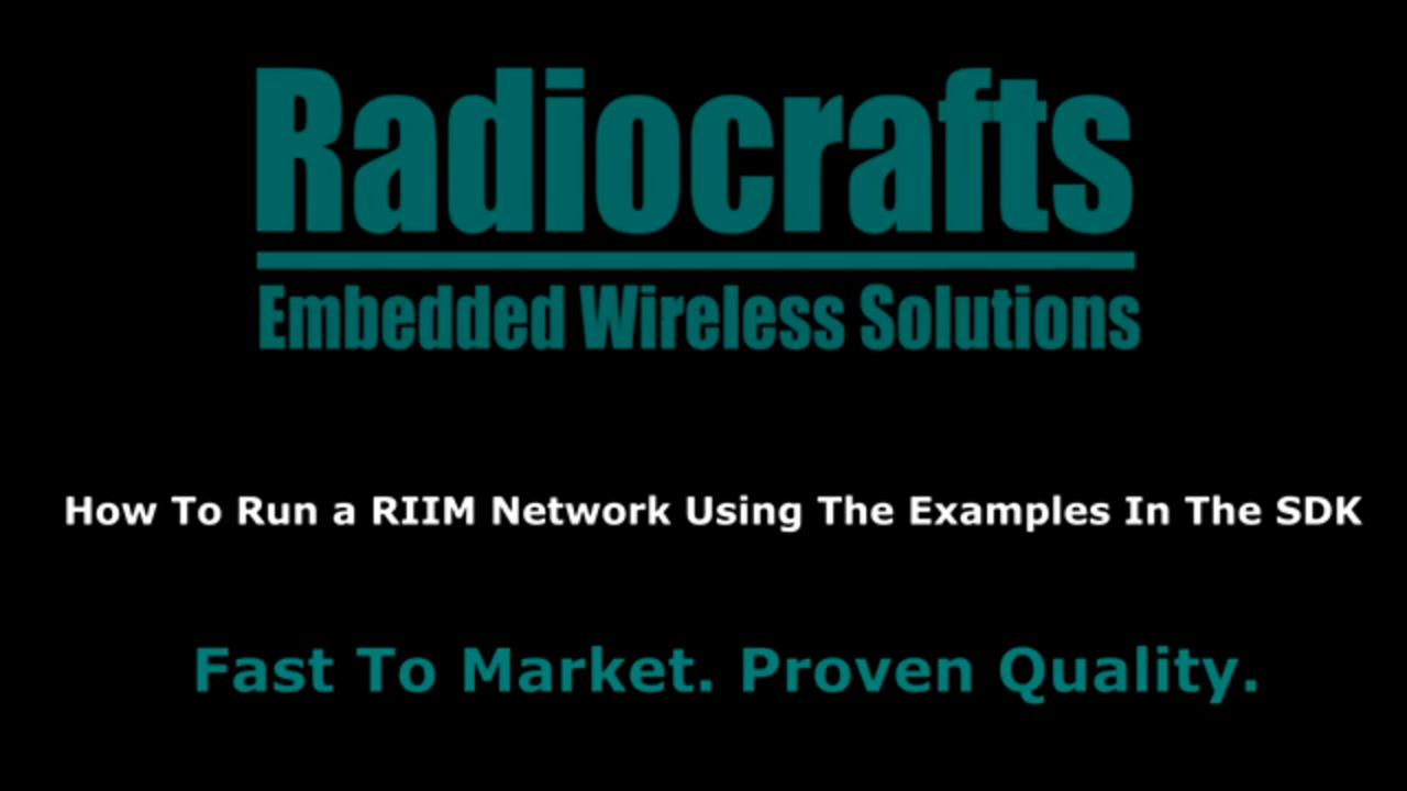 How To Get Started With RIIM Part 2 - How To Run a RIIM Network Using The RIIM SDK