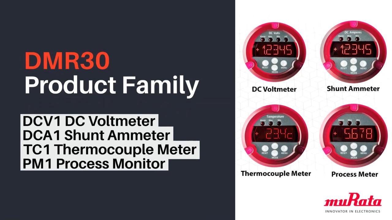 DMR30 Meter PRODUCT Family