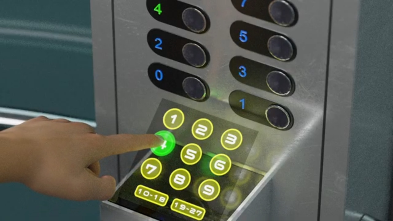 Neonode's Holographic Contactless Touch for Elevators