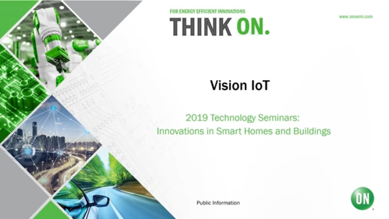 Vision IoT | 2019 Technology Seminar – IoT