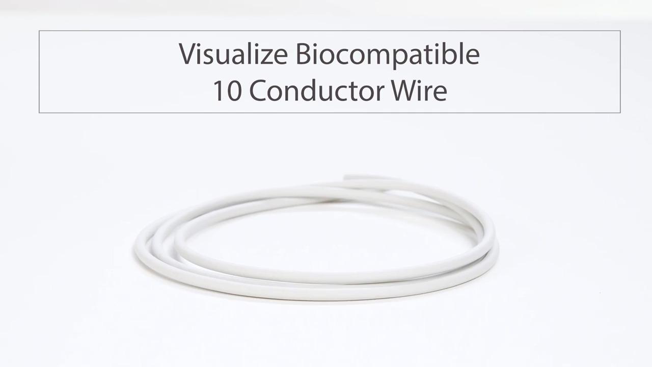 Visualize Tensility's Biocompatible 10 Conductor Wire