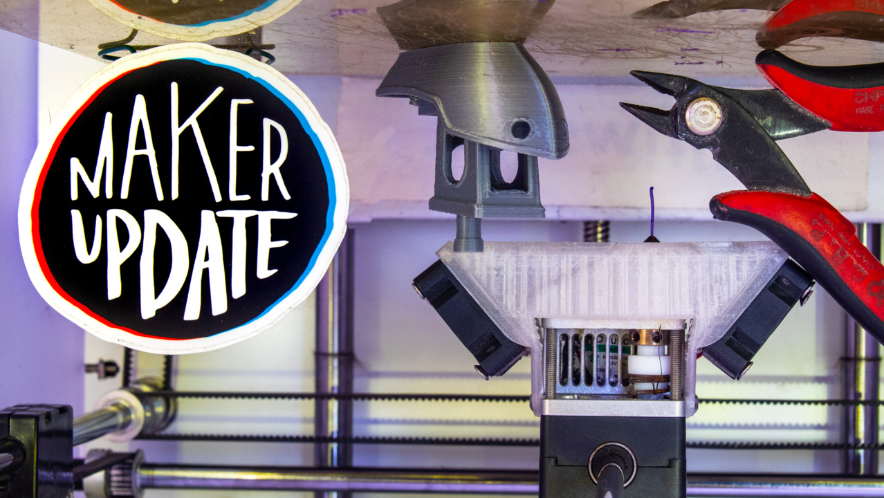 Printing on the Ceiling [Maker Update] Maker.io