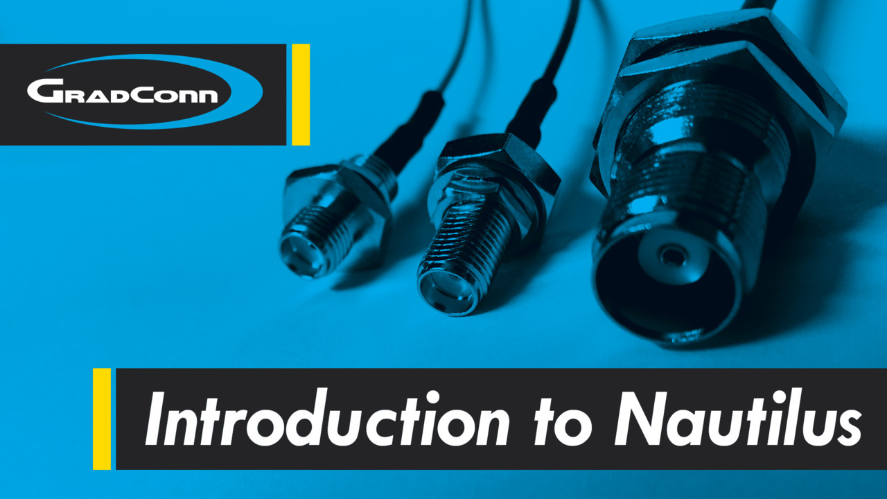 Introduction to Nautilus IP-Rated Coaxial Connectors