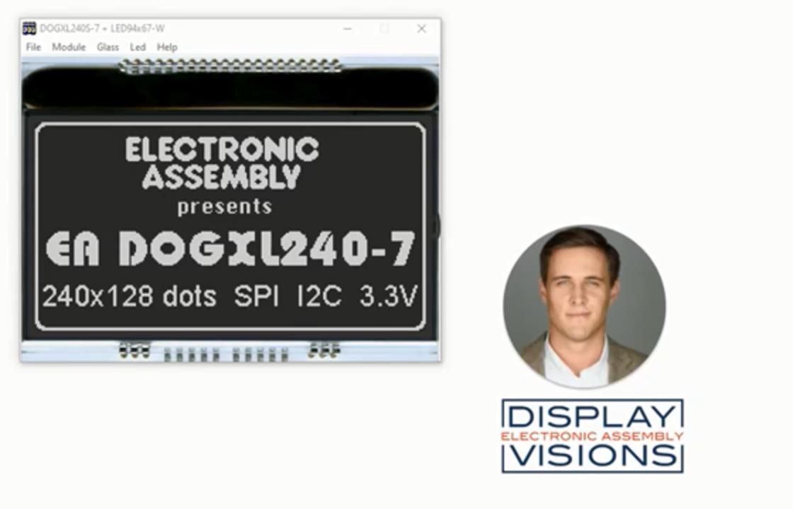 Industrial LCD Display Simulator