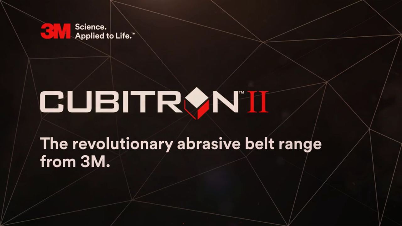 Cubitron II Abrasive Belt line - Engineered for Demanding Industrial Environments