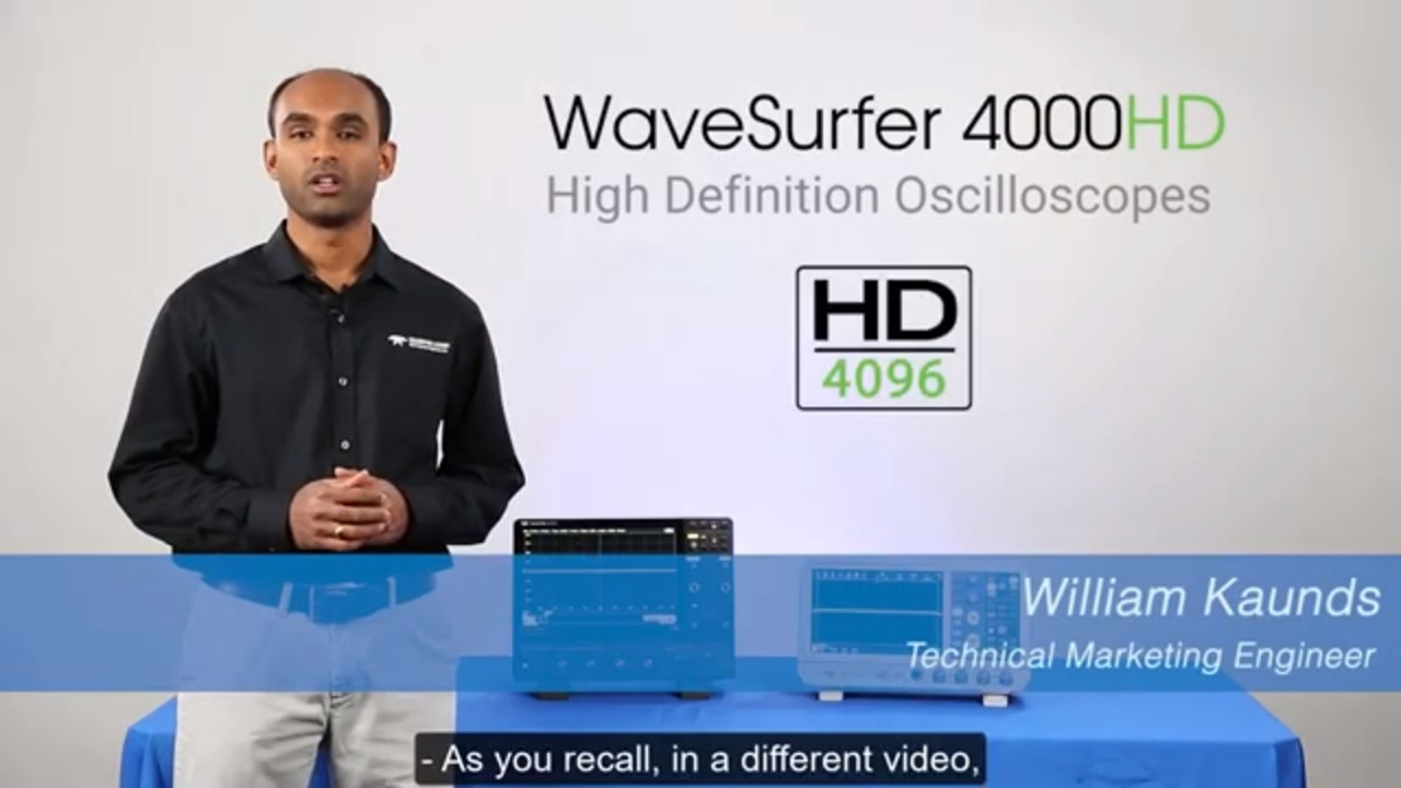 WaveSurfer 4000HD with HD4096: 12-bit Zooming