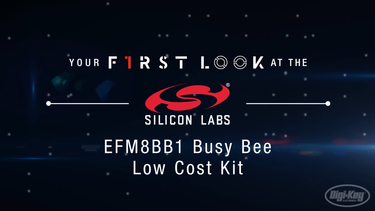 Silicon Labs EFM8BB1 Busy Bee Low Cost Kit First Look Video