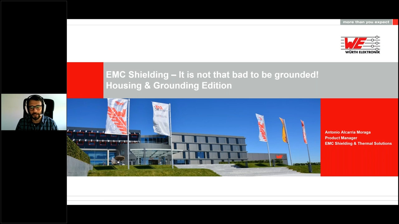 WEbinar Powered by Digi-Key: Advanced EMC Shielding; Grounding Edition