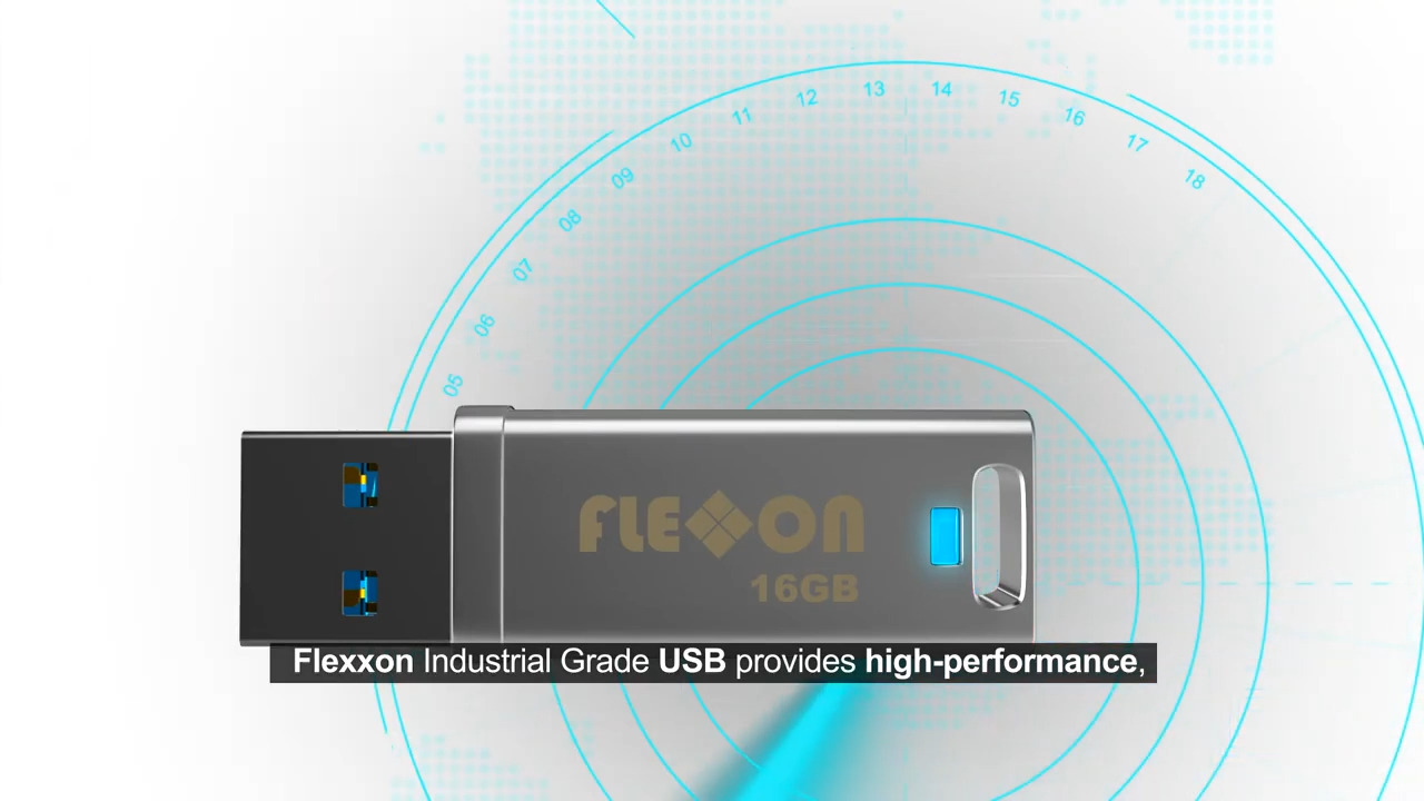 Flexxon Advanced Industrial USB Drives-  Ensures Safer Data Transfer Experience