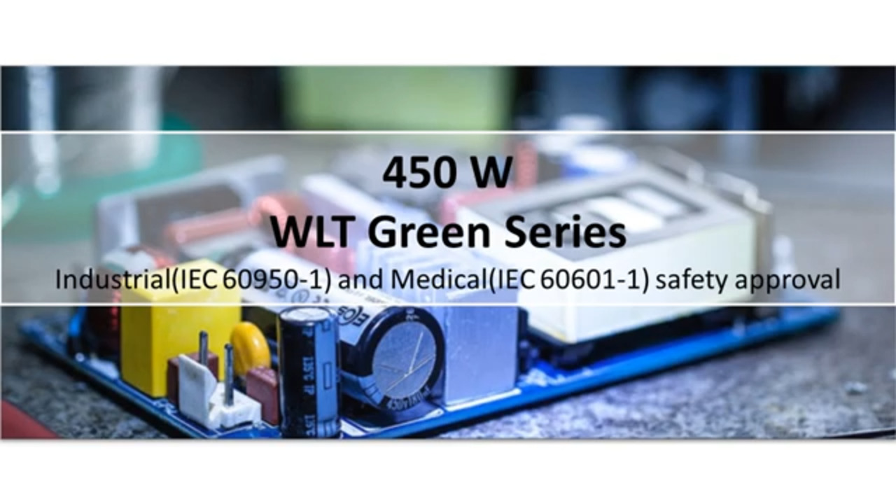 EOS Power (M)WLT450 Economical Green Series Power Supplies