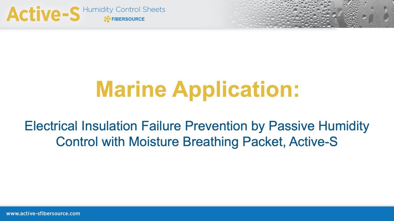 Active-S Marine Application Presentation
