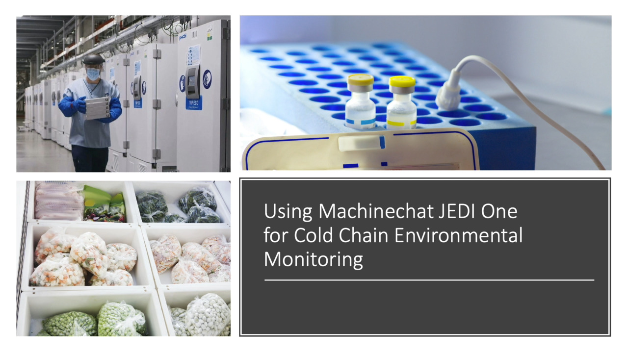 Monitoring Cold Chain Freezer door's with Machinechat