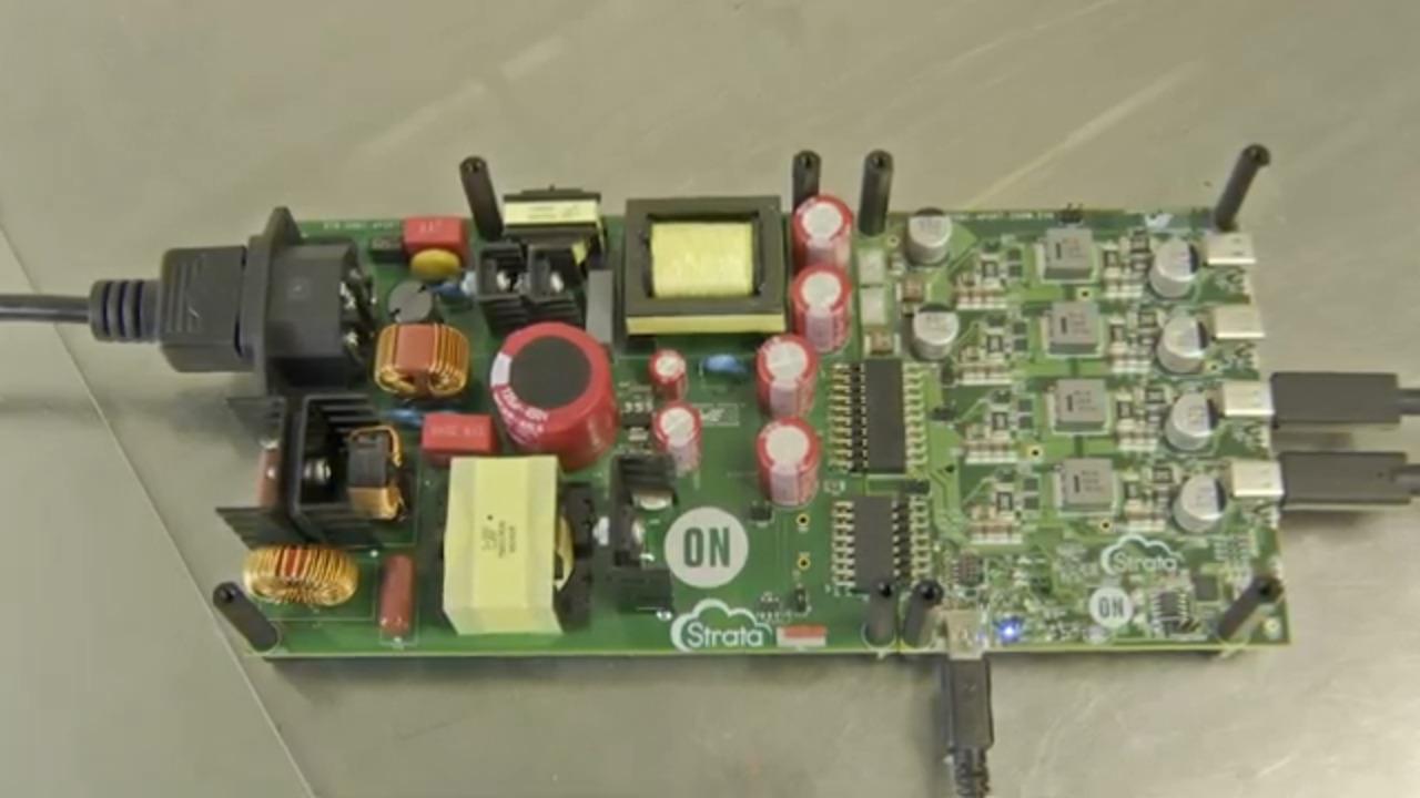 USB AC-DC 4-Port PD System