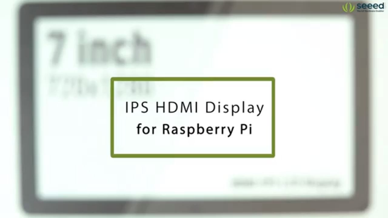 IPS HDMI Displays for Raspberry Pi – Unboxing and Overview