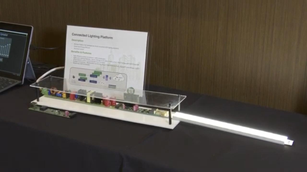 Connected Lighting Platform for LED Control