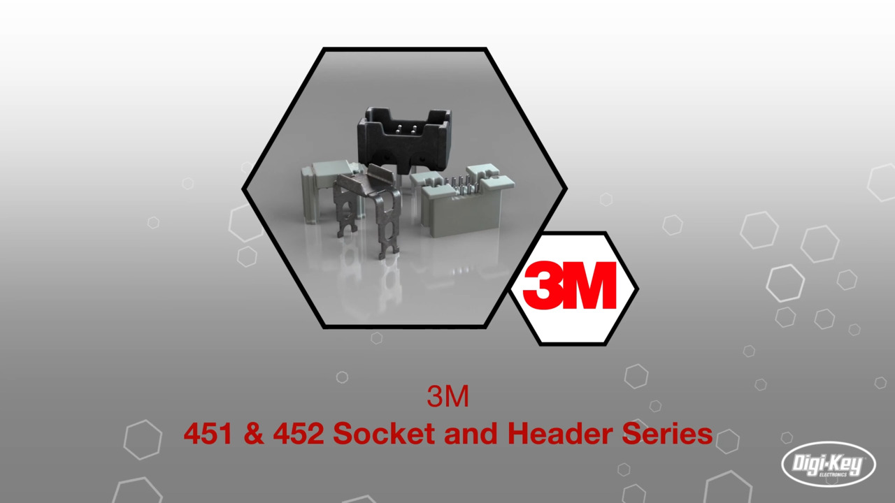 451 & 452 Socket and Header Series | Datasheet Preview