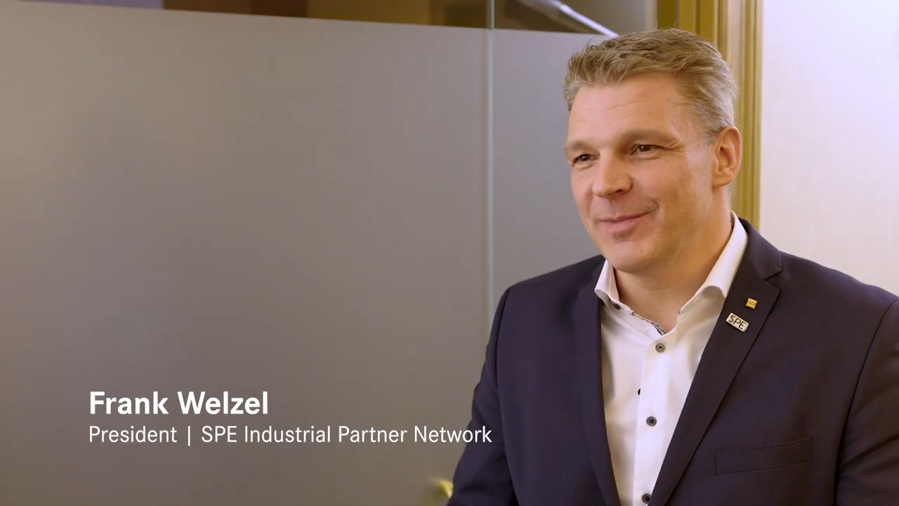 Frank Welzel: How the SPE Industrial Partner Network is Making SPE Accessible