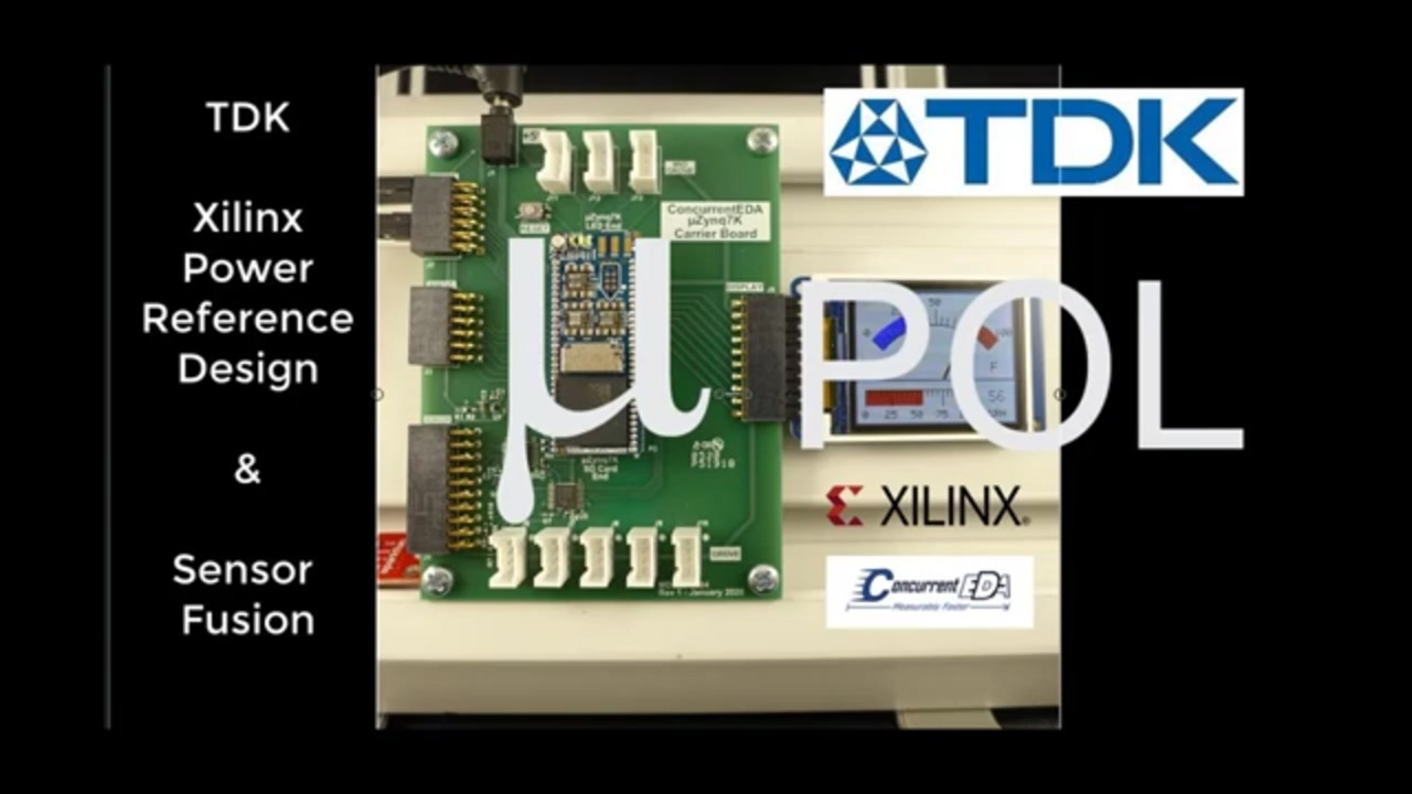 TDK Xilinx Zynq 7 Reference Design with Concurrent EDA