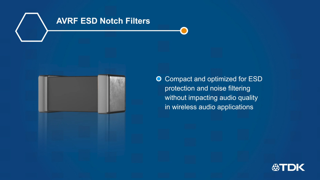 AVRF ESD Notch Filters Overview