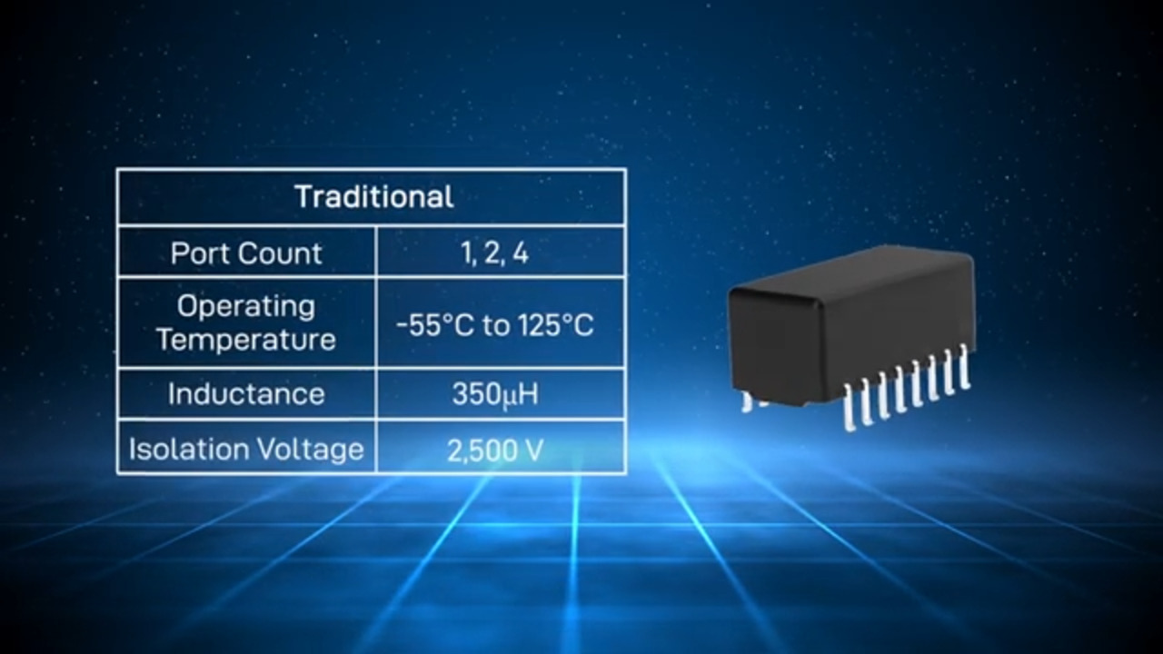Abracon RJ45/LAN Transformers Connected Solutions