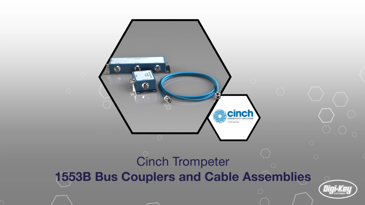 1553B Bus Couplers and Cable Assemblies | Datasheet Preview