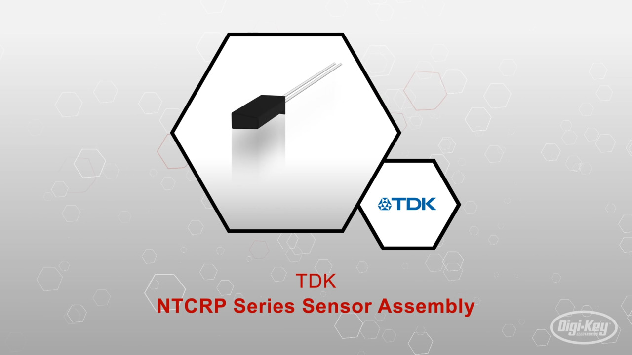 NTCRP Series NTC Sensor Assembly | Datasheet Preview