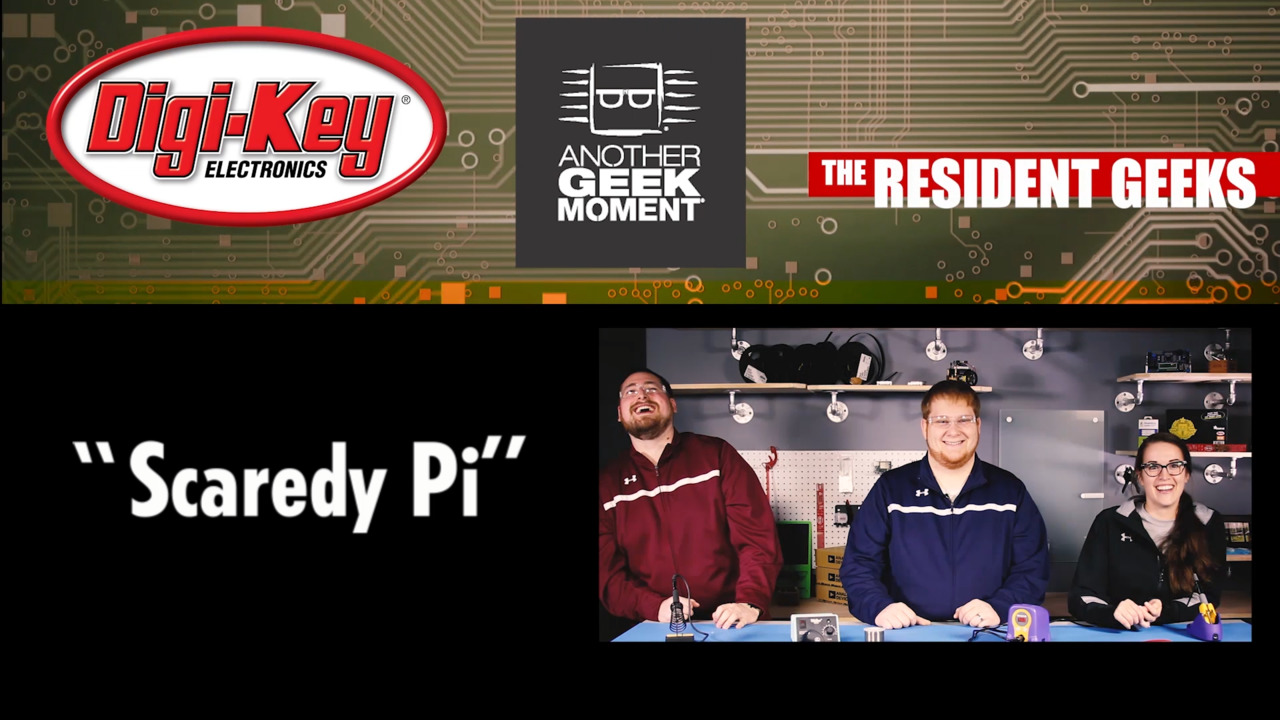 Scaredy Pi | The Resident Geeks