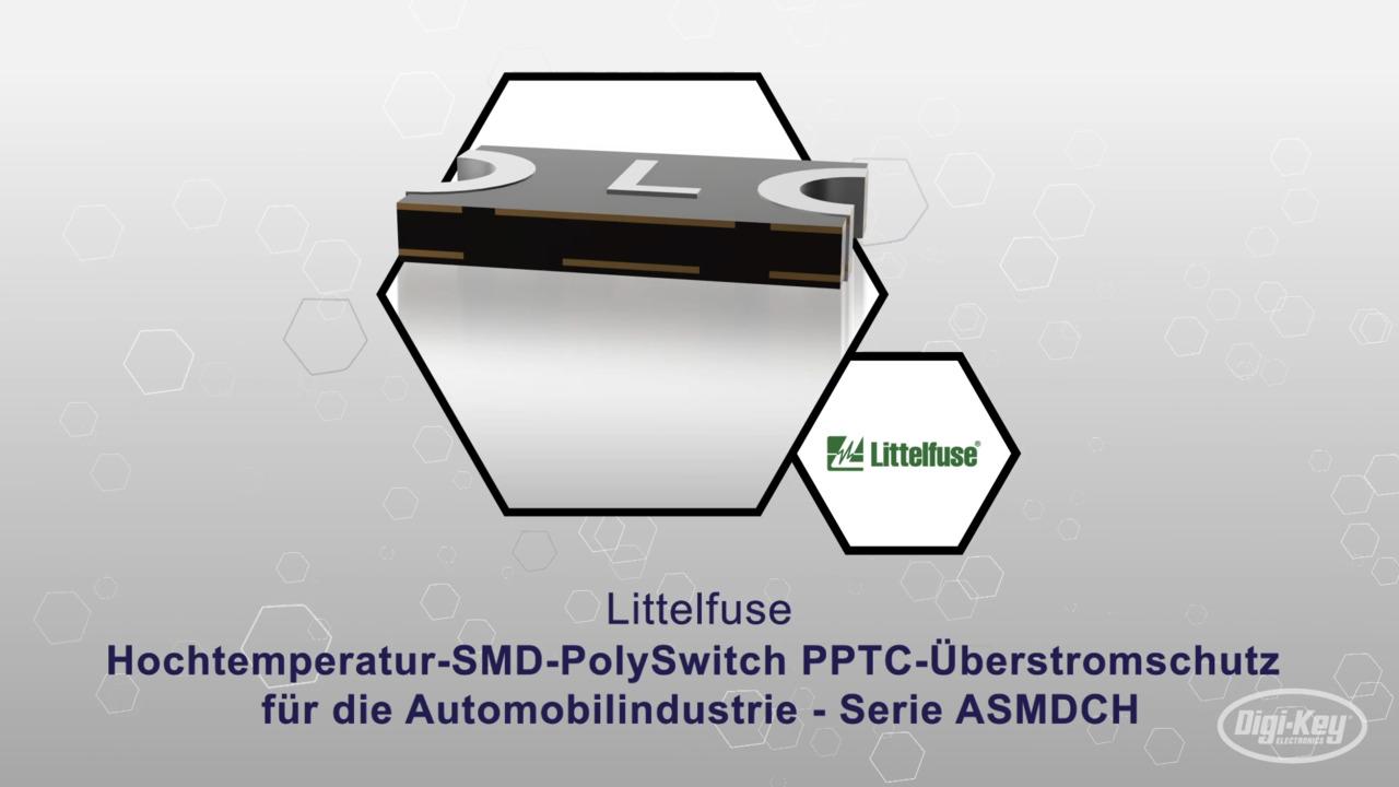 Hochtemperatur-SMD-PolySwitch PPTC-Überstromschutz für die Automobilindustrie - Serie ASMDCH   Datasheet Preview