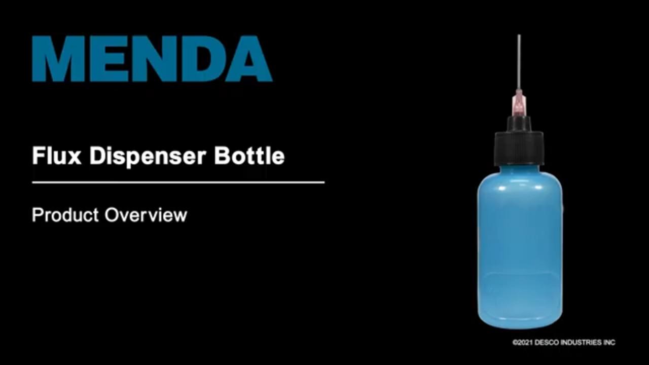 MENDA durAstatic® Flux Dispenser Bottles