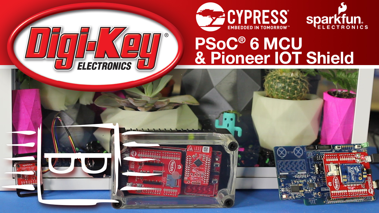 Greenhouse Monitoring with Cypress and SparkFun - Another Geek Moment