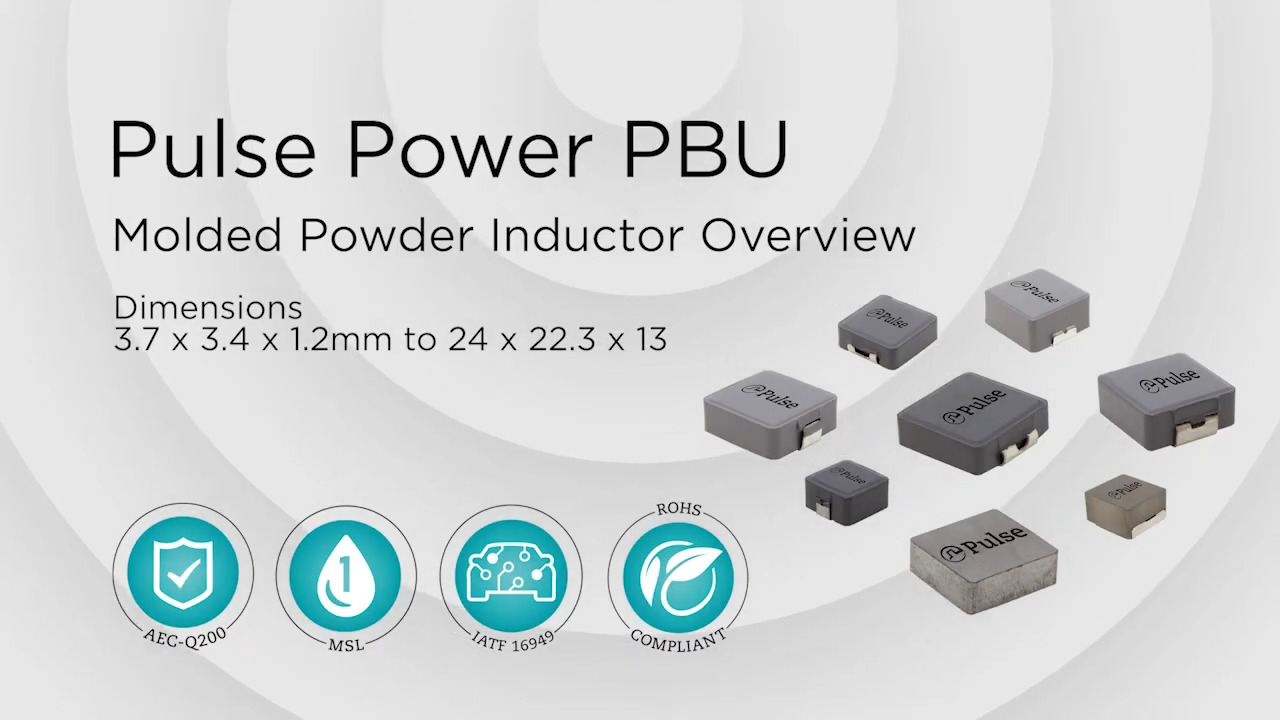 Pulse Molded Power Inductors