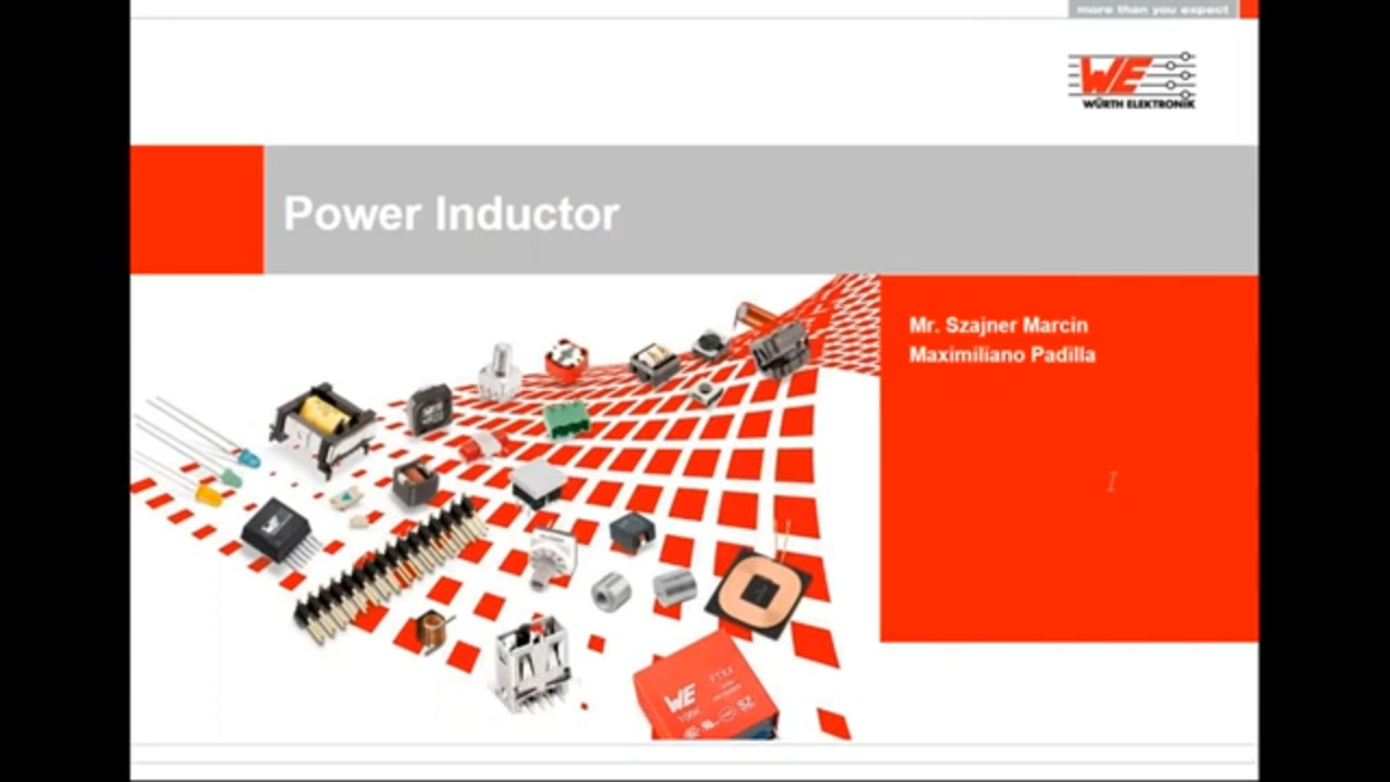 WEbinar Powered by Digi-Key: Inductors – Basic Principles of Inductors