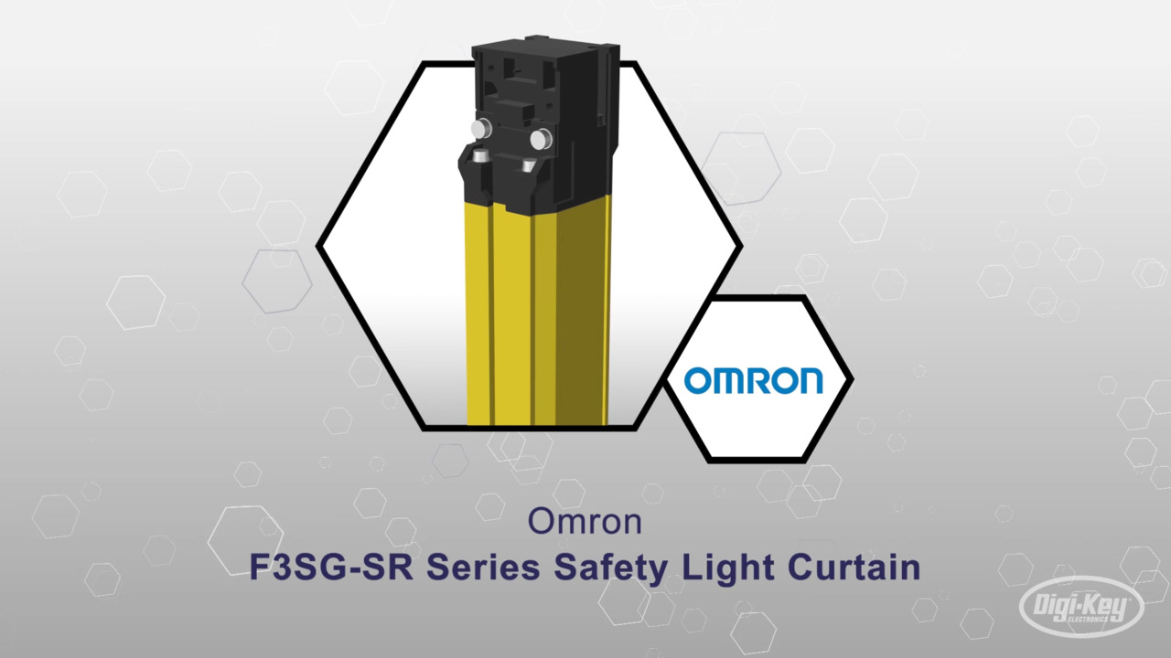 F3SG-SR Safety Light Curtain | Datasheet Preview