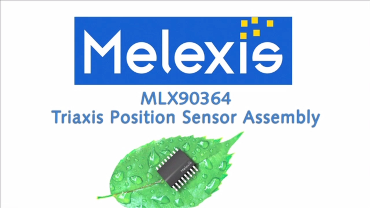 Triaxis Position Sensor Assembly (MLX90364)
