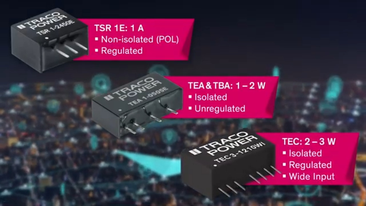 Low-Cost, Low-Power DC/DC Solutions