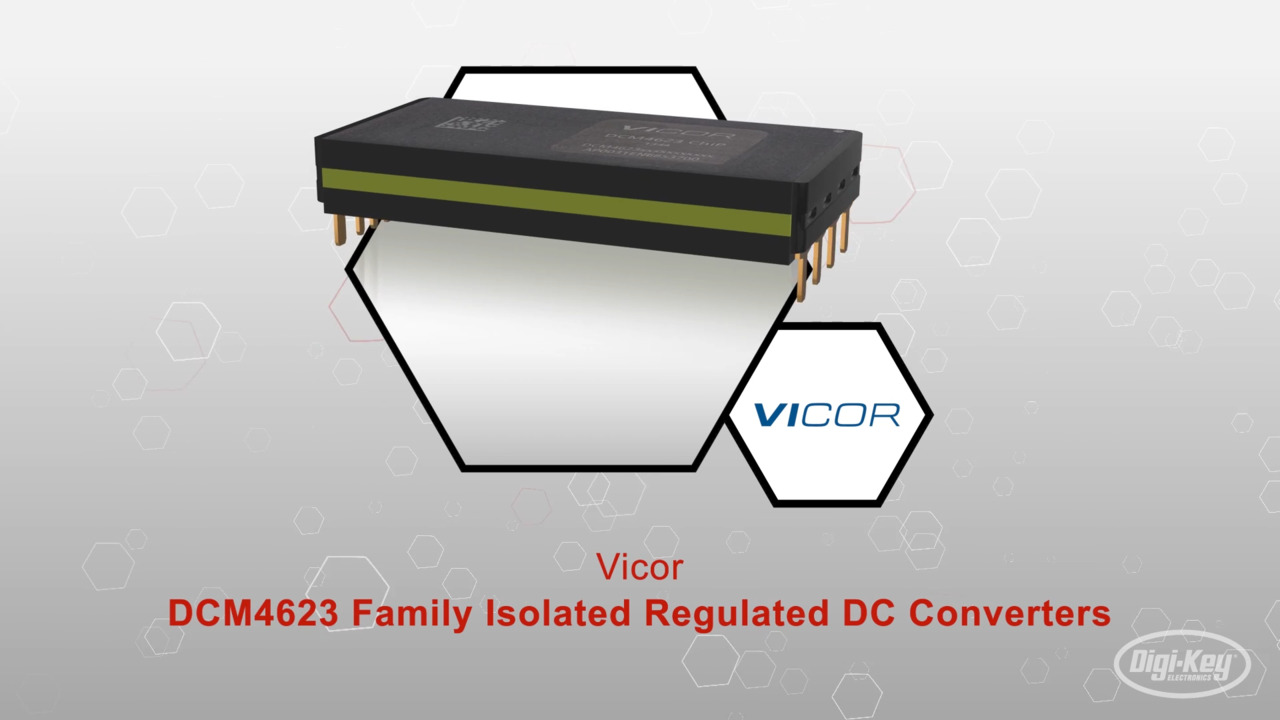 DCM4623 Family Isolated Regulated DC Converters | Datasheet Preview