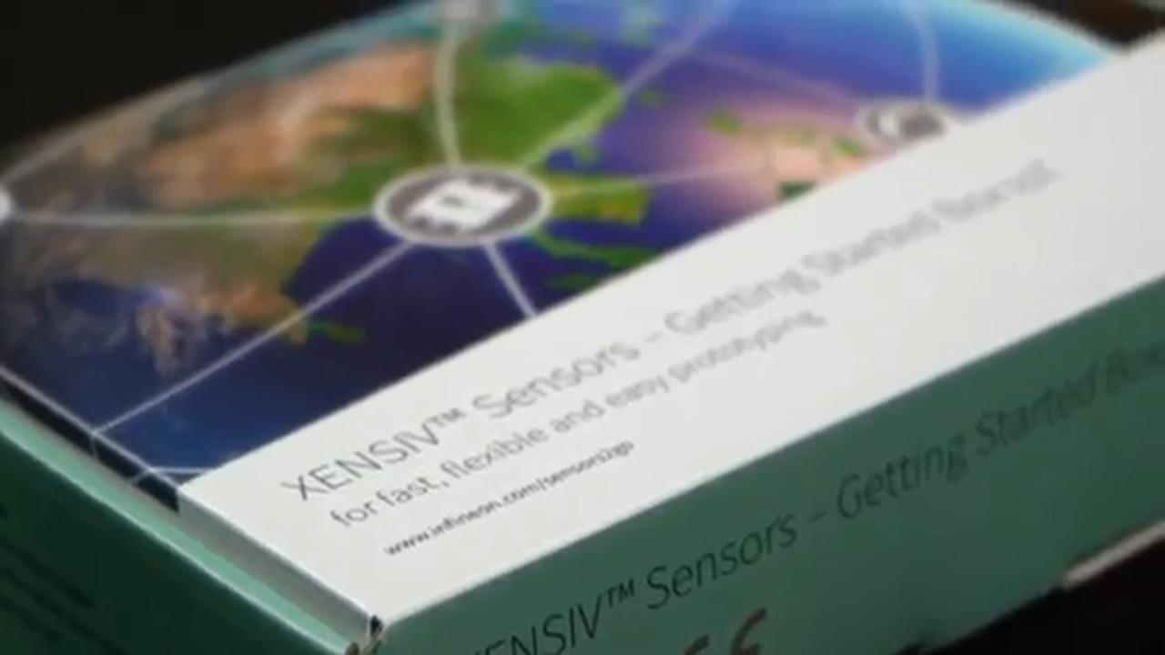 XENSIV SENSORS GETSTARTBOXIOTTOBO1