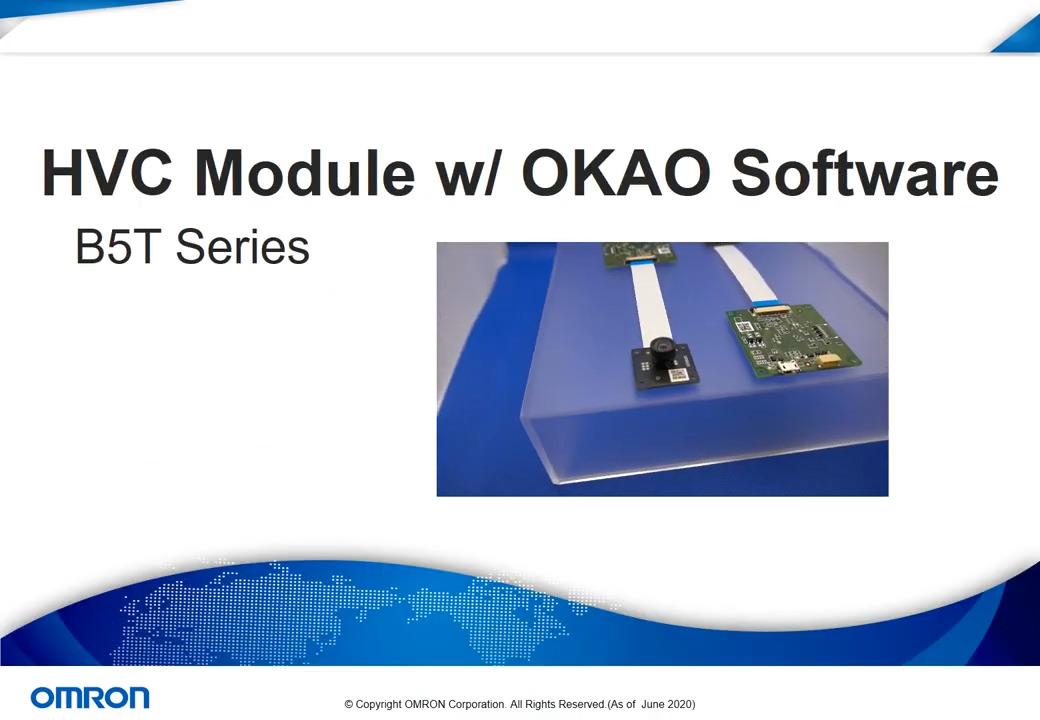 Omron's Human Vision Component (HVC) & OKAO