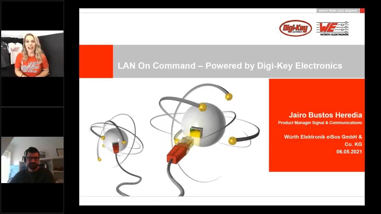 WEbinar Powered by Digi-Key: LAN Transformers: LAN On Command!