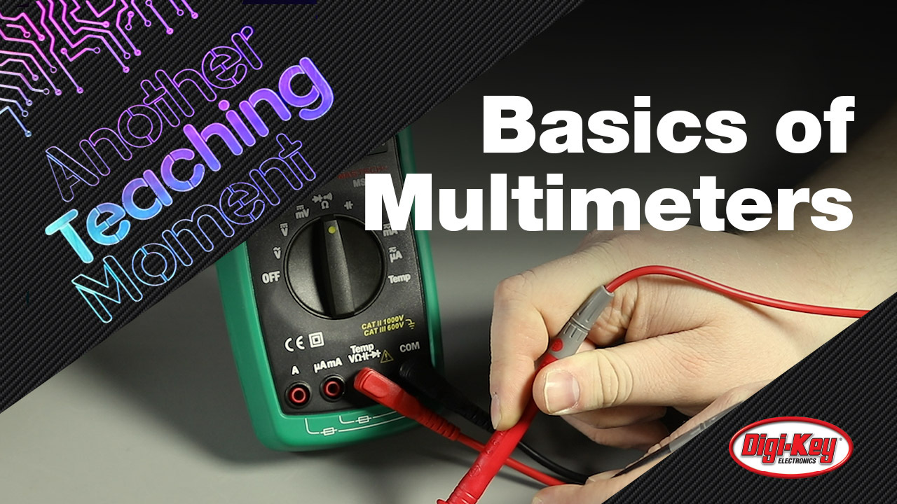 What is Auto vs. Manual Ranging: Multimeters  - Another Teaching Moment | DigiKey Electronics