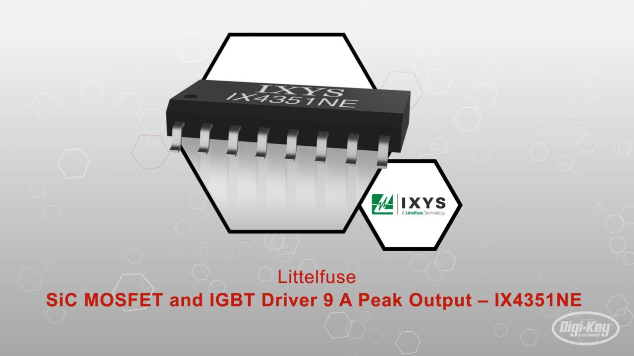 SiC MOSFET and IGBT Driver 9 A Peak Output – IX4351NE | Datasheet Preview